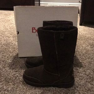 Bear paw London Chocolate Boots